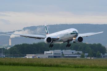 B-KQI - Cathay Pacific Boeing 777-300ER
