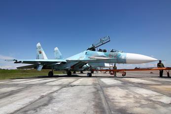 62 - Belarus - Air Force Sukhoi Su-27UB