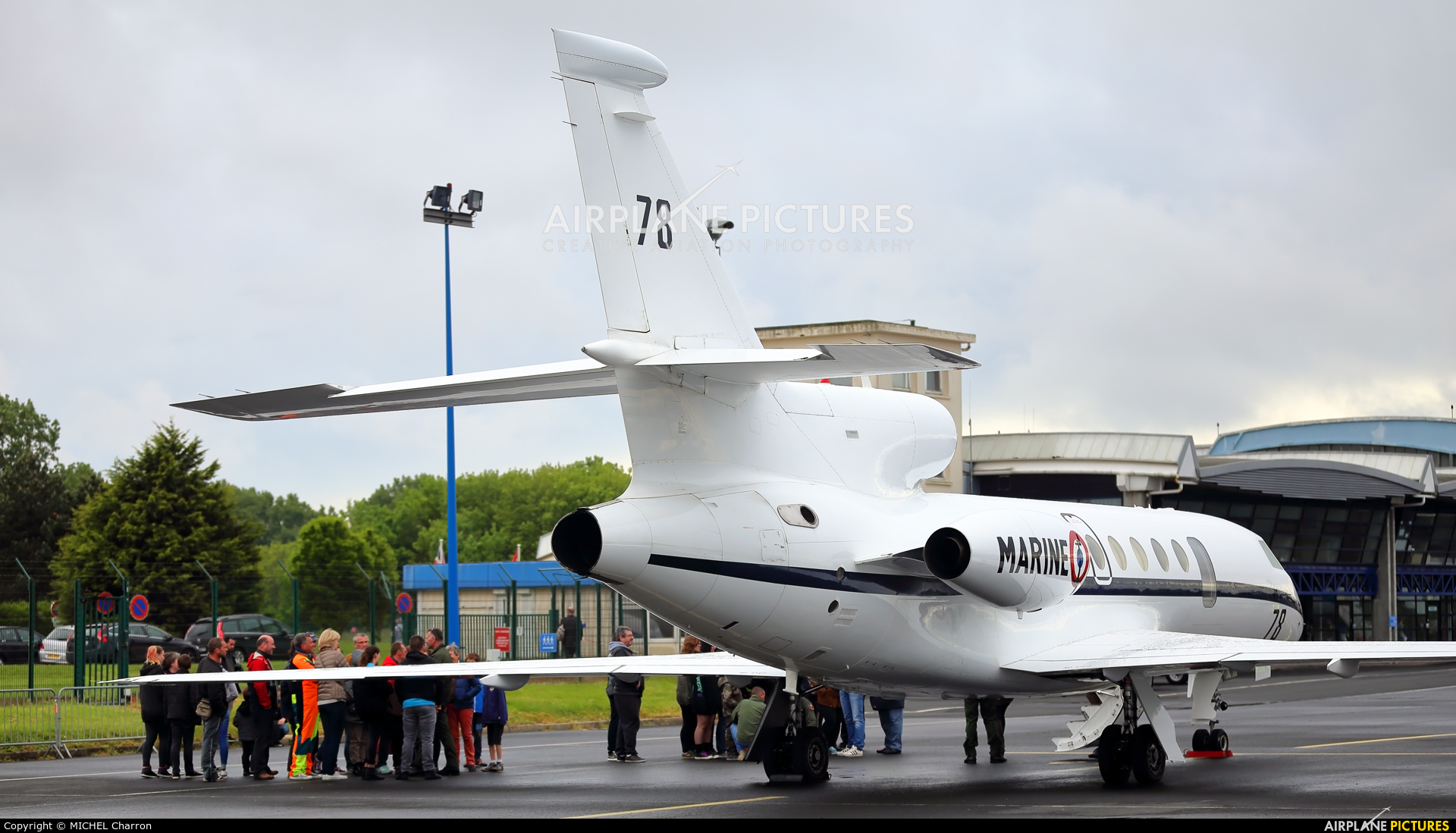 78 france air force dassault falcon 50 marine at le havre
