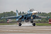 12 - Russia - Air Force Sukhoi Su-34 aircraft