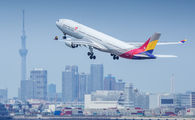 HL7741 - Asiana Airlines Airbus A330-300 aircraft