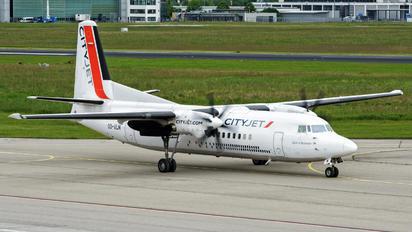 OO-VLN - VLM Airlines Fokker 50
