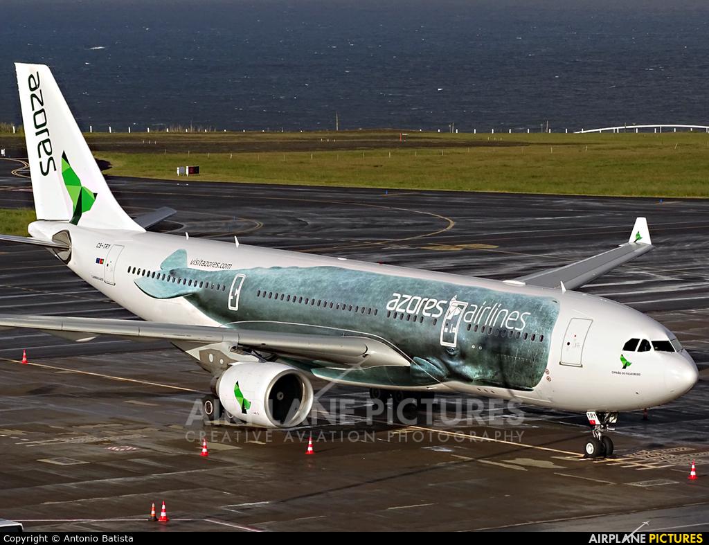 Azores Airlines CS-TRY aircraft at Azores - Ponta Delgada
