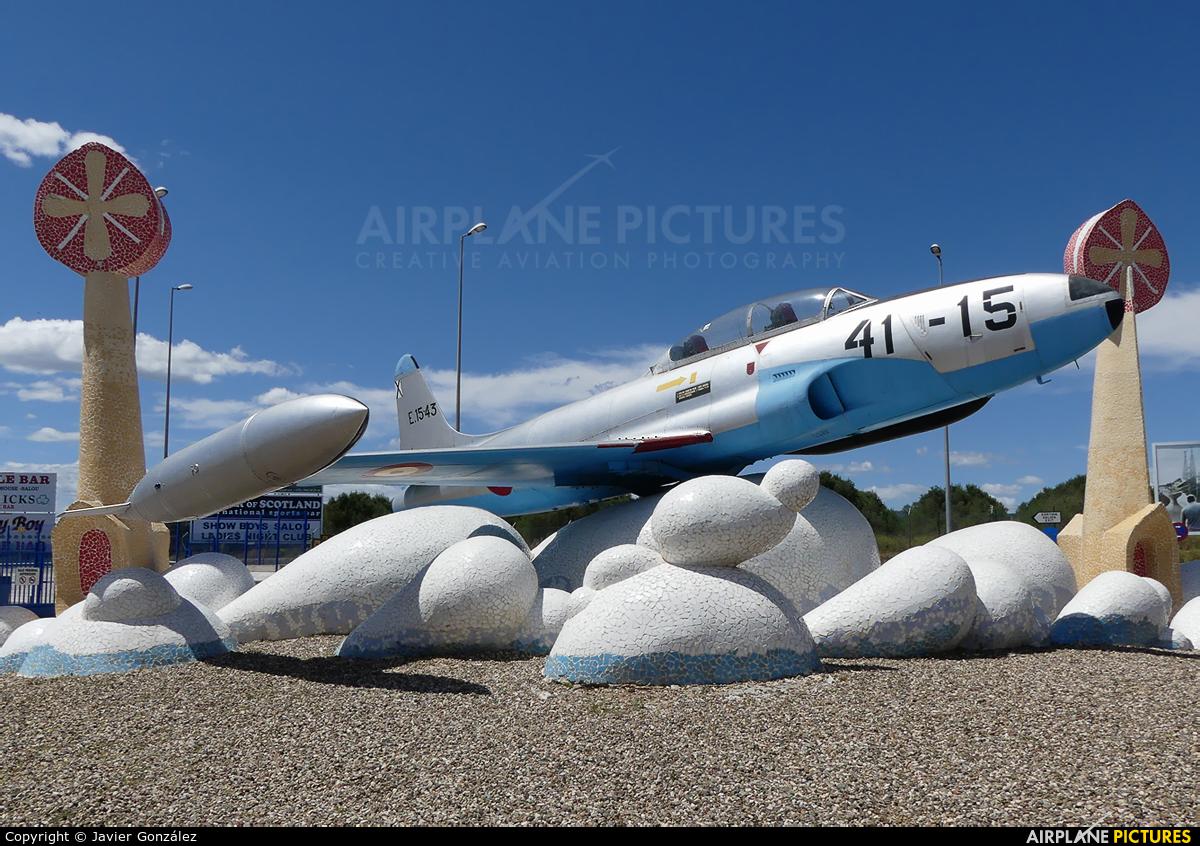 Spain - Air Force E.15-43 aircraft at Reus