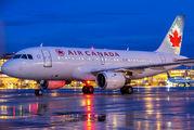 C-FZUJ - Air Canada Airbus A319 aircraft