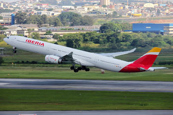 EC-JBA - Iberia Airbus A340-600