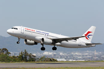 b-6001 - China Eastern Airlines Airbus A320