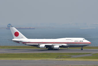 20-1102 - Japan - Air Self Defence Force Boeing 747-400