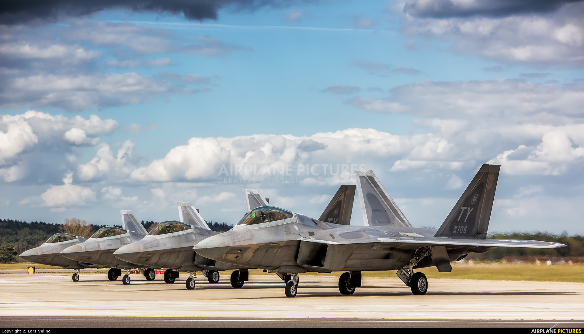 USA - Air Force 05-4106 aircraft at Lakenheath
