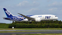 JA802A - ANA - All Nippon Airways Boeing 787-8 Dreamliner aircraft