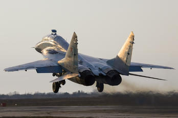 55 - Russia - Air Force Mikoyan-Gurevich MiG-29UB
