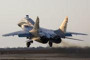 55 - Russia - Air Force Mikoyan-Gurevich MiG-29UB aircraft
