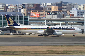 9V-STV - Singapore Airlines Airbus A330-300