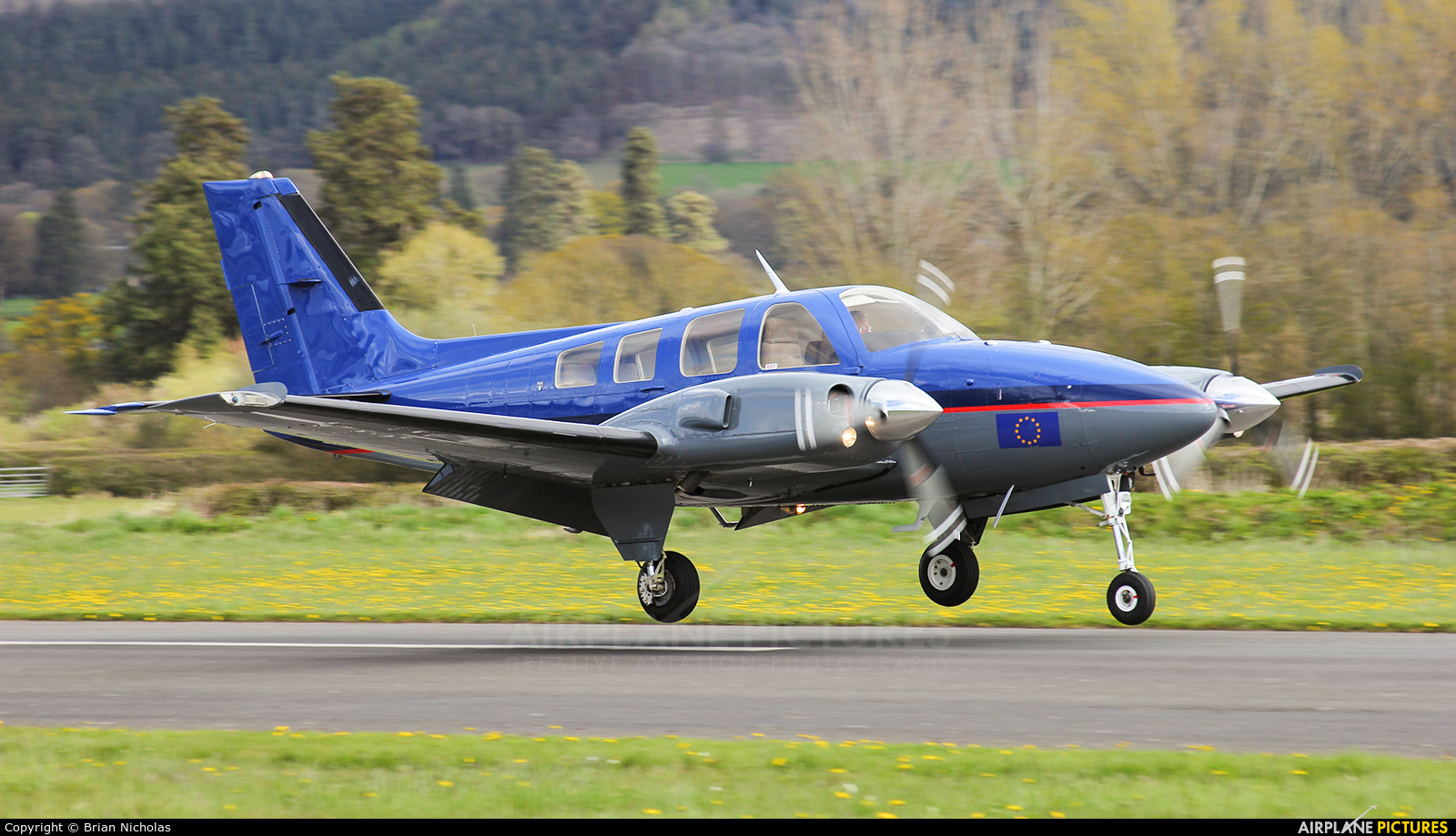 Private G-BNUN aircraft at Welshpool