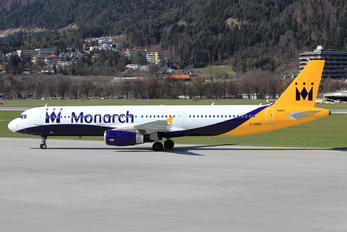 G-OZBU - Monarch Airlines Airbus A321