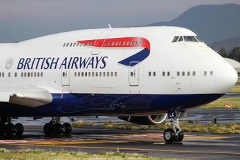 G-BNLK - British Airways Boeing 747-400