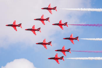 "- - Royal Air Force ""Red Arrows"" British Aerospace Hawk T.1/ 1A"