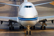 9K-ADE - Kuwait Airways Boeing 747-400 aircraft