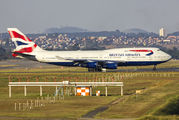G-CIVJ - British Airways Boeing 747-400 aircraft