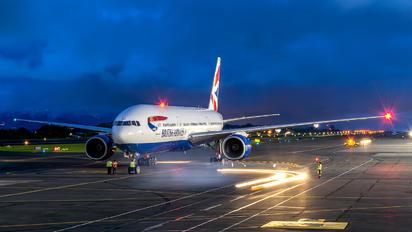 G-YMMD - British Airways Boeing 777-200
