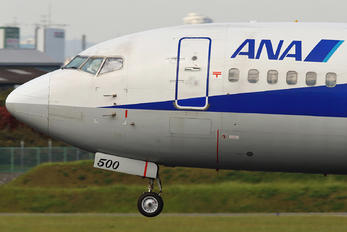 JA8500 - ANA Wings Boeing 737-500