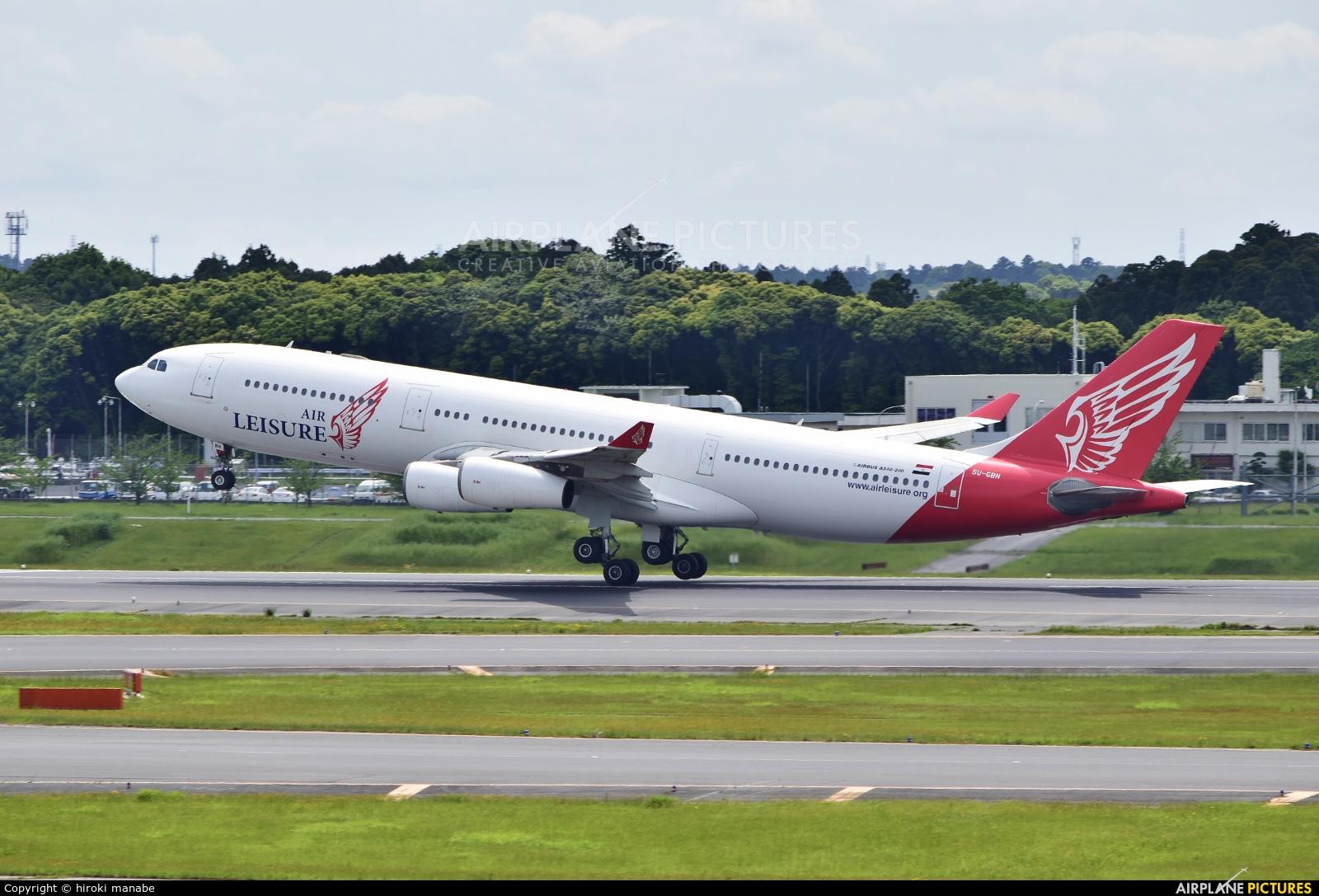 Air Leisure SU-GBN aircraft at Tokyo - Narita Intl