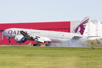 A7-BFF - Qatar Airways Cargo Boeing 777F