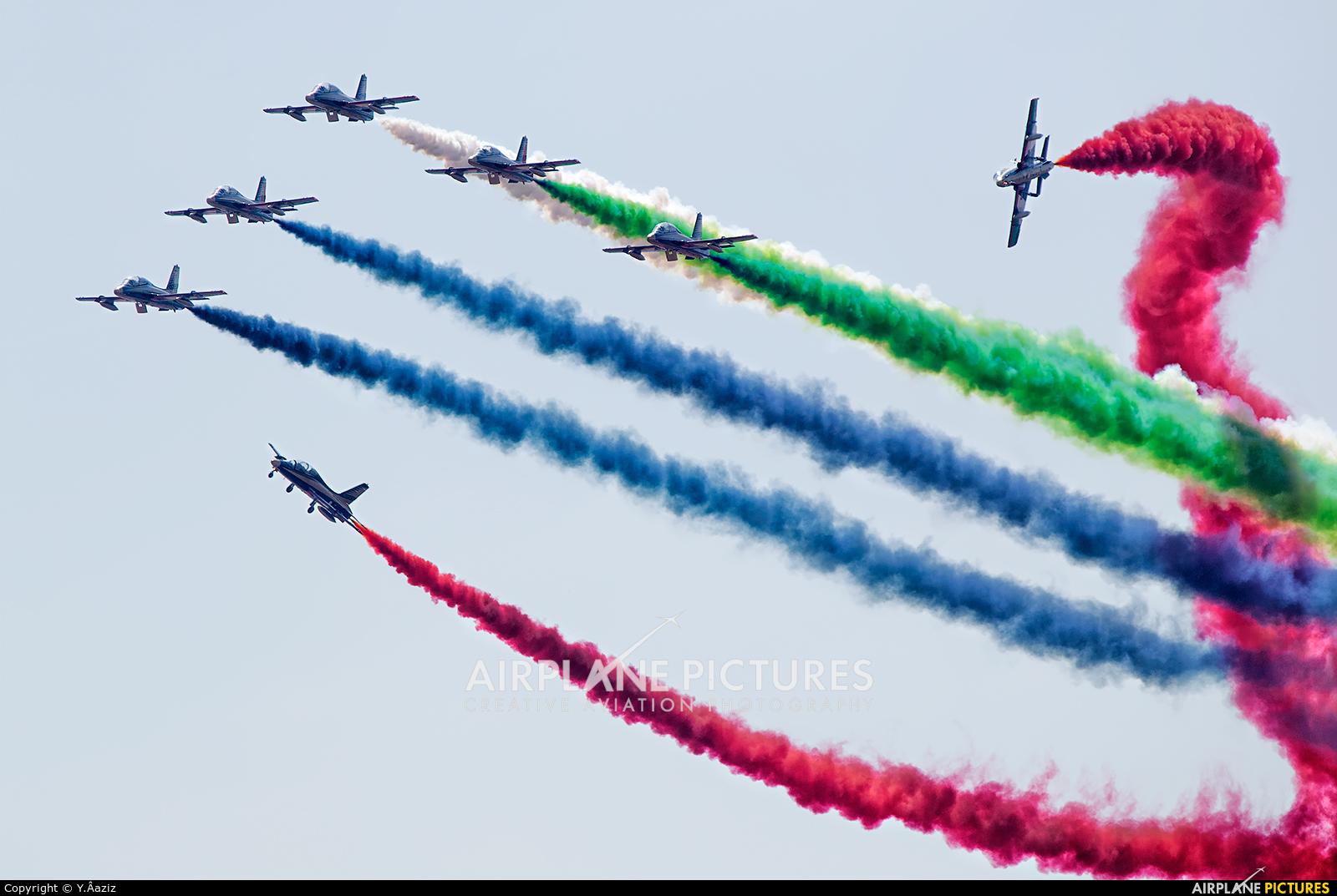 "United Arab Emirates - Air Force ""Al Fursan"" - aircraft at Marrakech - Menara"