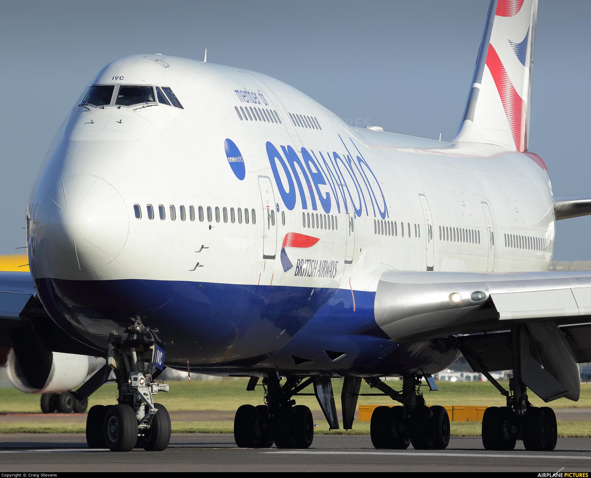 British Airways G-CIVC aircraft at London - Heathrow