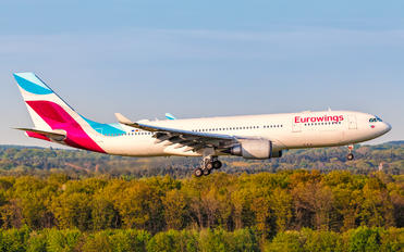 D-AXGC - Eurowings Airbus A330-200