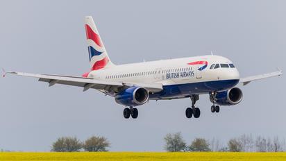 G-EUUL - British Airways Airbus A320