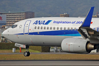 JA57AN - ANA - All Nippon Airways Boeing 737-800