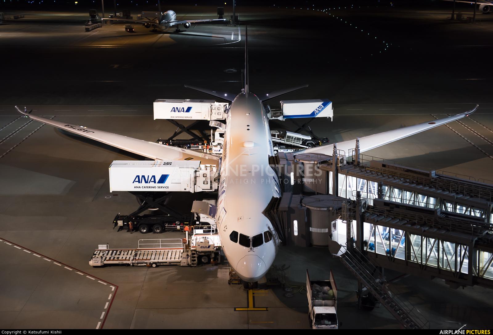 ANA - All Nippon Airways JA875A aircraft at Tokyo - Haneda Intl