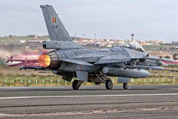 FA-91 - Belgium - Air Force General Dynamics F-16A Fighting Falcon