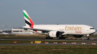 A6-EFG - Emirates Sky Cargo Boeing 777F
