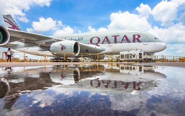 A7-APF - Qatar Airways Airbus A380