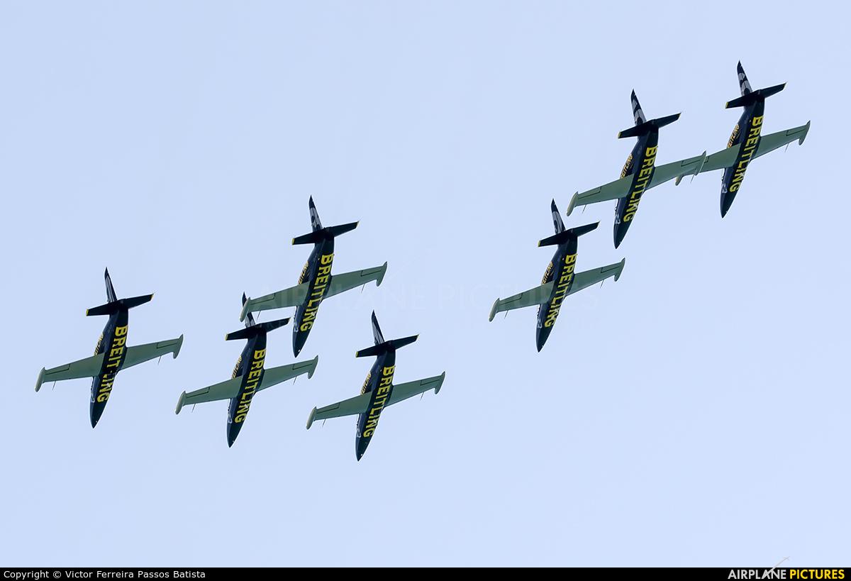 Breitling Jet Team ES-YLN aircraft at Off Airport - Florida
