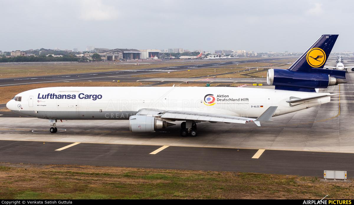 Lufthansa Cargo D-ALCC aircraft at Mumbai - Chhatrapati Shivaji Intl