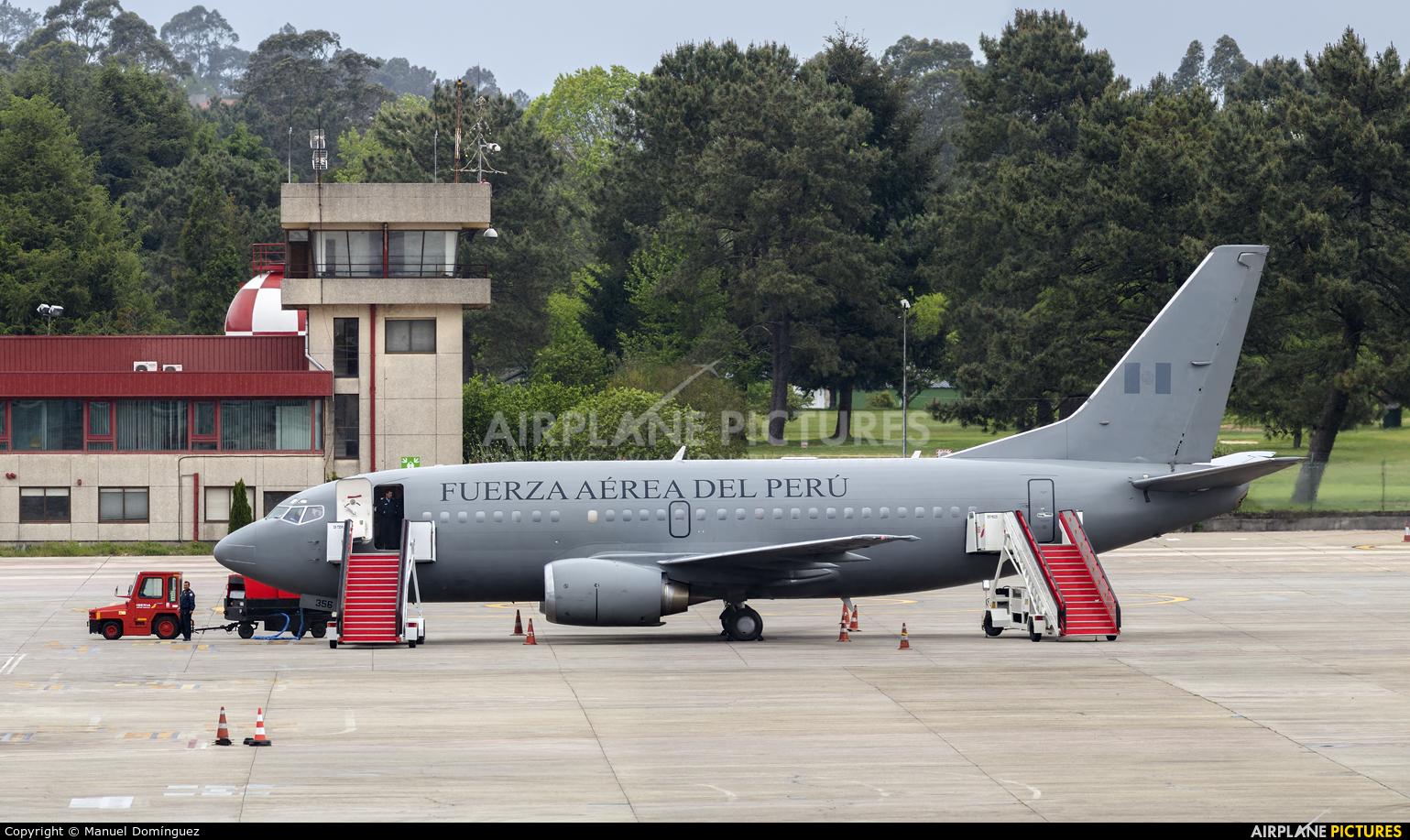 Peru - Air Force 356 aircraft at Vigo
