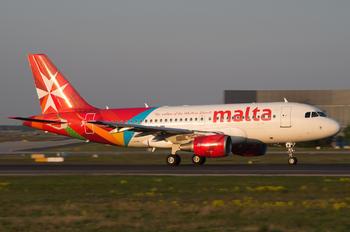 9H-AEM - Air Malta Airbus A319