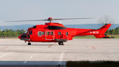 G-BKZE - CHC Scotia Aerospatiale AS332 Super Puma L (and later models)