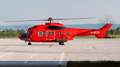 G-BKZE - CHC Scotia Aerospatiale AS332 Super Puma L (and later models)