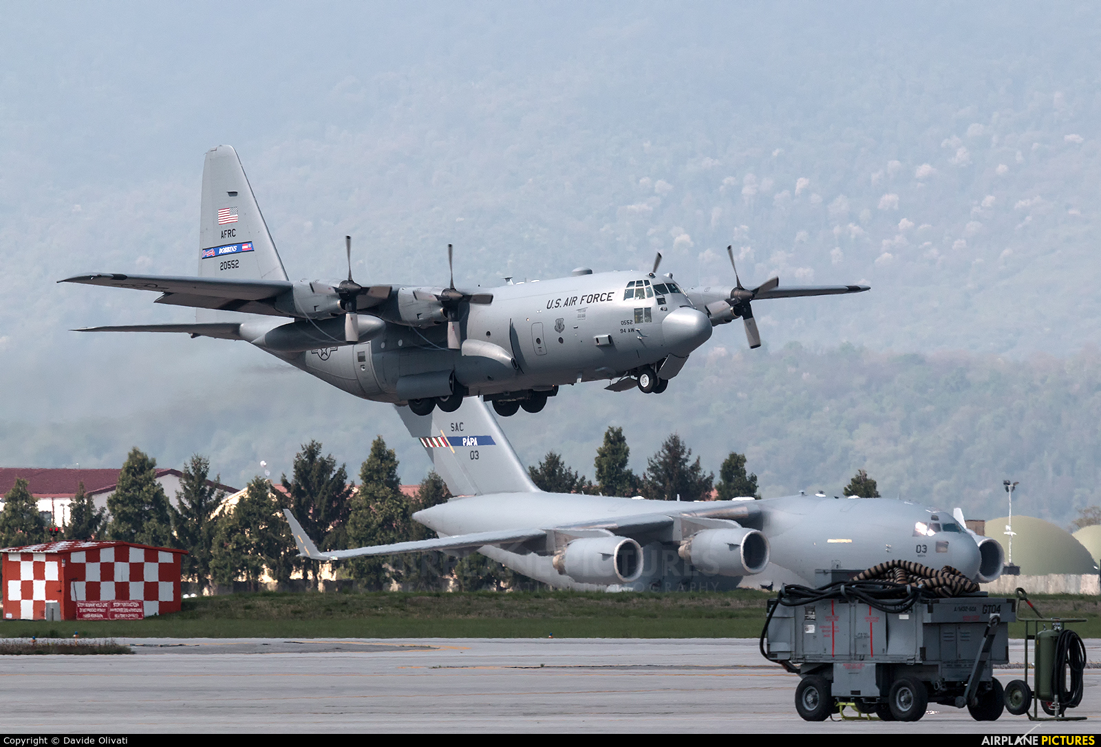 USA - Air Force 92-0552 aircraft at Aviano