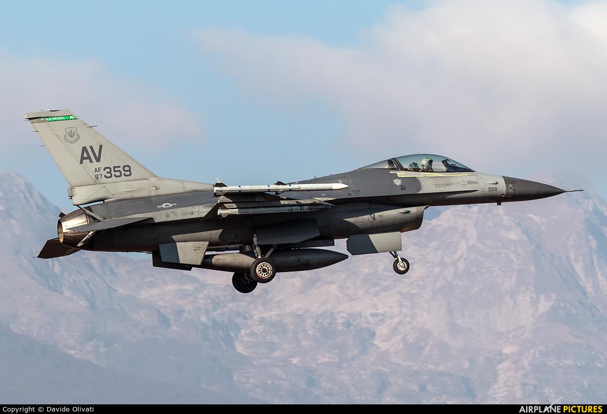 USA - Air Force 87-0359 aircraft at Aviano