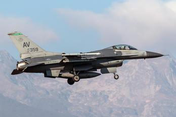 87-0359 - USA - Air Force General Dynamics F-16CG Night Falcon