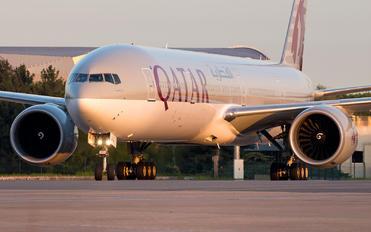 A7-BAQ - Qatar Airways Boeing 777-300ER
