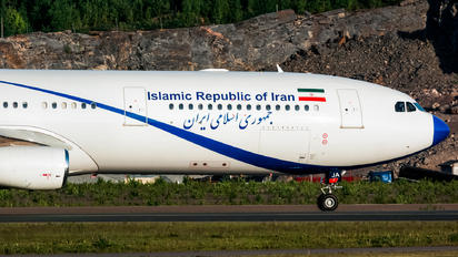 EP-AJA - Iran - Government Airbus A340-300