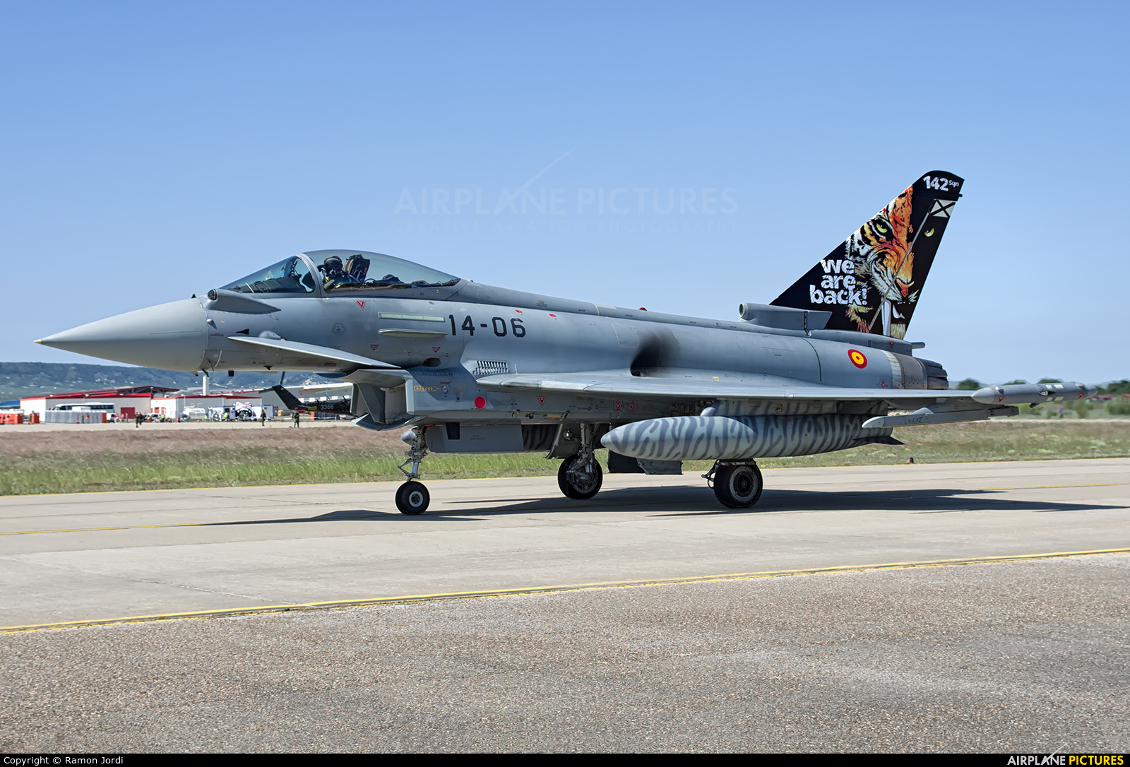 Spain - Air Force C.16-39 aircraft at Zaragoza