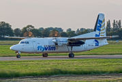 OO-VLM - VLM Airlines Fokker 50 aircraft