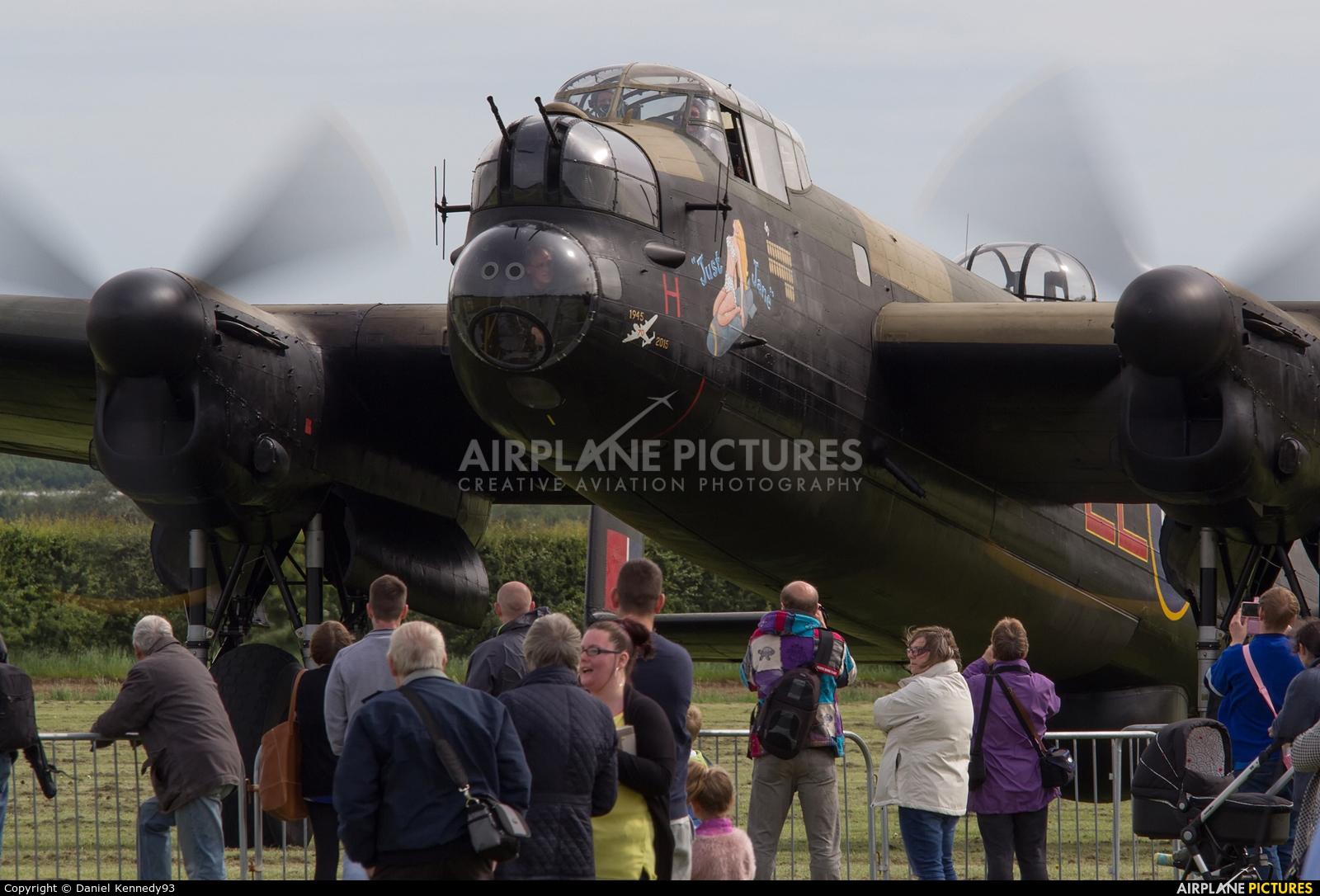 Royal Air Force NX611 aircraft at East Kirkby